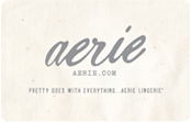 Aerie by American Eagle gift cards